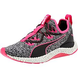 HYBRID Runner Women's Running Shoes, Puma Black-Fuchsia Purple, small