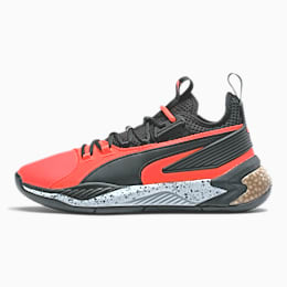 Uproar Core Basketball Shoes, High Risk Red-Puma Black, small