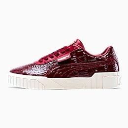 Cali Croc Women's Sneakers, Pomegranate-Pomegranate, small