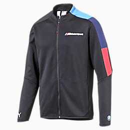 BMW M Motorsport Men's T7 Track Jacket, Anthracite, small
