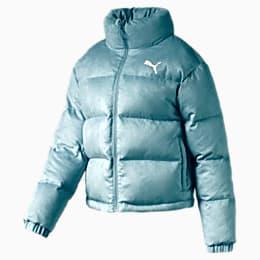 480 Style Women's Down Jacket, Milky Blue, small