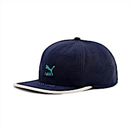 Archive Flat Brim Cap, Peacoat-Blue Turquoise, small