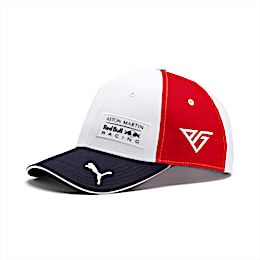 Red Bull Racing Pierre Gasly Cap, Puma White-Chinese Red, small