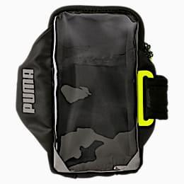 Running Mobile Armband, Puma Black-Yellow Alert, small