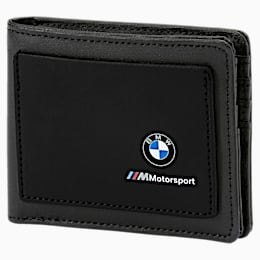 BMW Motorsport Wallet, Puma Black, small