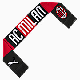 AC Milan Fan Schal, Tango Red -Puma Black, small