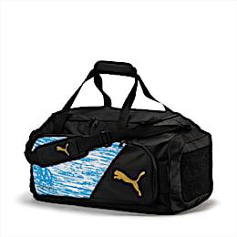Olympique de Marseille LIGA Medium Bag, AZURE BLUE-Puma Black, small