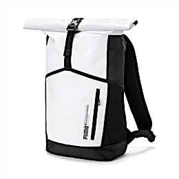 Energy Rolltop Backpack, Puma White, small