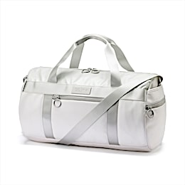 SG x PUMA Style Barrel Bag, Puma White, small