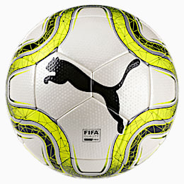 Ballon FINAL 2 Match FIFA Q Pro, White-Lemon Tonic-Black, small