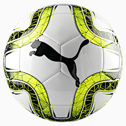 FINAL 6 MS Training Football, White-Lemon Tonic-Black, small