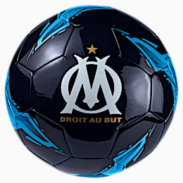 Olympique de Marseille Fan Ball, Peacoat-Bleu Azur, small