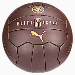 Manchester City 125 Year Anniversary Fan Ball, Puce-Victory Gold, small