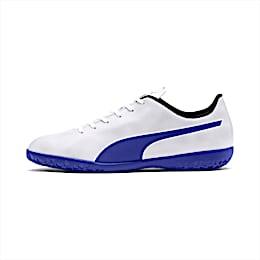 Rapido IT Men's Soccer Shoes, White-Royal Blue-Light Gray, small