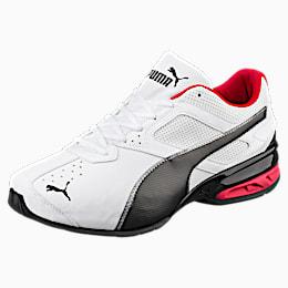 Tazon 6 FM Wide Men's Sneakers, White-Black-puma silver, small