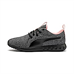 Carson 2 Knit Women's Running Shoes, Puma Black-White-Bridal Rose, small