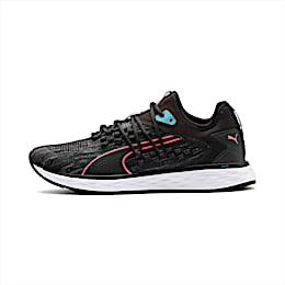 SPEED 600 FUSEFIT Women's Running Shoes, Puma Black-Milky Blue, small