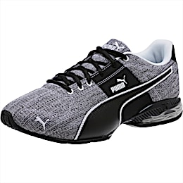 CELL Surin 2 Heather Men's Running Shoes, Puma Black-Puma White, small