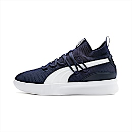 Clyde Court Basketball Shoes, Peacoat, small