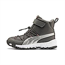 Maka V Youth Sneaker, Steel Gray-Bridal Rose, small