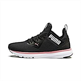 Enzo Beta Fluid Women's Running Shoes, Puma Black-Bridal Rose, small