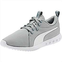 Carson 2 Cosmo Women's Running Shoes, Quarry-Puma White, small