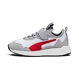NRGY Neko Skim AC Shoes PS, White-H Rise-CASTLEROCK-Red, small