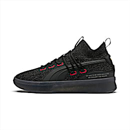 Clyde Court Reform Basketball Shoes, Puma Black, small