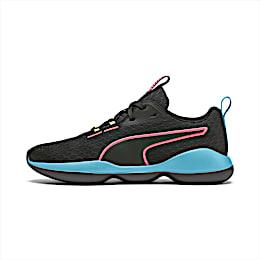 Flourish FS Women's Training Shoes, Puma Black-Milky Blue, small