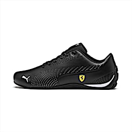 Ferrari Drift Cat 5 Ultra II Trainers, Puma Black-Puma White, small