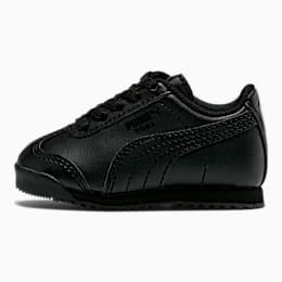 Roma Basic Toddler Shoes, black-black, small