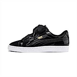 Basket Heart Patent Sneakers JR