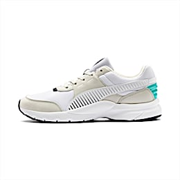Future Runner Running Shoes, Wht-G Gray-Peacoat-Turquoise, small