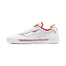 Cali-0 Drive Thru Sneaker, P Wht-Blazing Yelw-Hi Ris Rd, small