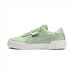 Sneakers Cali Emboss donna, Smoke Green-Smoke Green, small