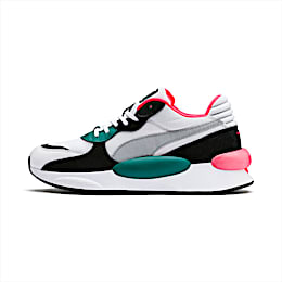 RS 9.8 Space Trainers, Puma White-Teal Green, small
