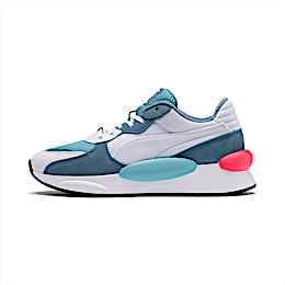 RS 9.8 Cosmic Trainers, Puma White-Milky Blue, small