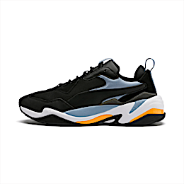 Thunder Fashion 2.0 Trainers, P Black-Faded Denim-P White, small