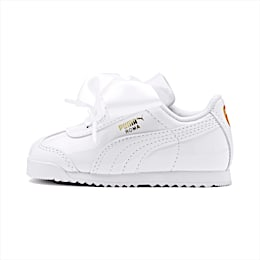 Roma Heart Patent Babies' Trainers