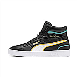Ralph Sampson Mid Hoops Trainers