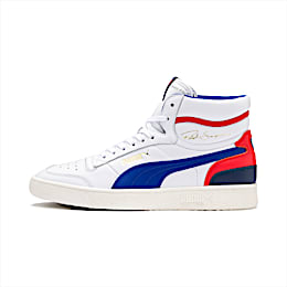 Ralph Sampson Mid Trainers, Wht-Surf The Web-Marshmallow, small