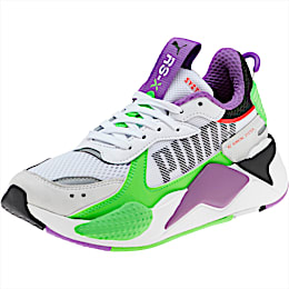 RS-X Bold Fluorescent Sneakers JR