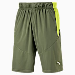 Short tricoté Energy Running pour homme, Olivine-Fizzy Yellow, small