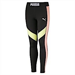 Mädchen Leggings, Puma Black, small