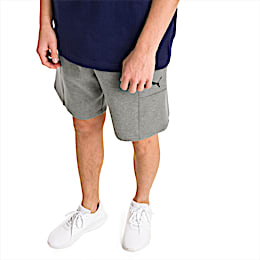 Epoch Herren Gestrickte Shorts, Medium Gray Heather, small