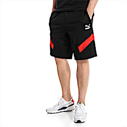 "Iconic MCS Knitted 10"" Men's Shorts, Puma Black, small"