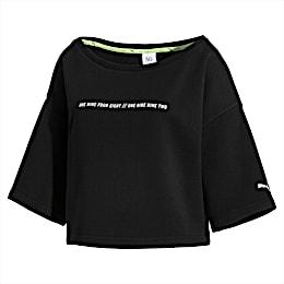 PUMA x SELENA GOMEZ Cropped Short Sleeve Women's Sweater