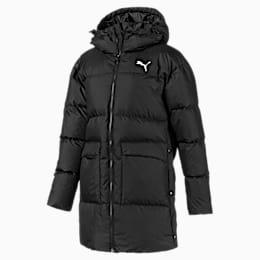 Abrigo de plumón largo con capucha450 para mujer