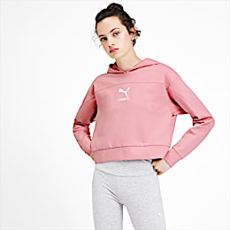 NU-TILITY Women's Hoodie, Bridal Rose, small