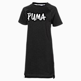 Alpha Girls' Dress, Puma Black, small
